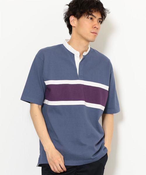 SC シームボーダー バンドカラー / ラガーシャツ