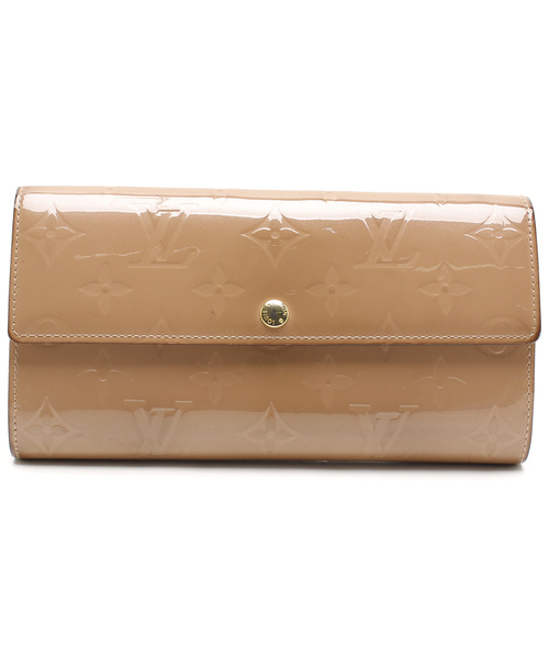 fb48e87b1f05 LOUIS VUITTON(ルイヴィトン)の古着「ヴェルニ ポルトフォイユサラ 2つ折り長財布