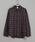 CIAOPANIC(チャオパニック)の「綿テンセルビエラチェックシャツ/ネルシャツ/ビッグシルエット/WEB限定カラーあり(シャツ/ブラウス)」|ネイビー