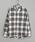 CIAOPANIC(チャオパニック)の「綿テンセルビエラチェックシャツ/ネルシャツ/ビッグシルエット/WEB限定カラーあり(シャツ/ブラウス)」|ホワイト