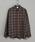 CIAOPANIC(チャオパニック)の「綿テンセルビエラチェックシャツ/ネルシャツ/ビッグシルエット/WEB限定カラーあり(シャツ/ブラウス)」|グリーン