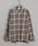 CIAOPANIC(チャオパニック)の「綿テンセルビエラチェックシャツ/ネルシャツ/ビッグシルエット/WEB限定カラーあり(シャツ/ブラウス)」|ブラック