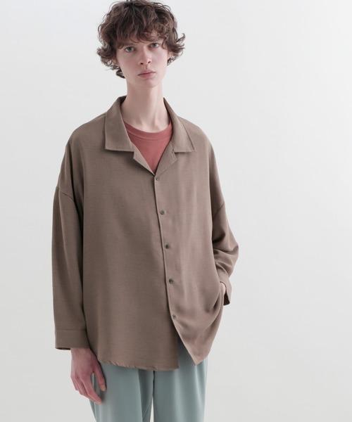 ビッグシルエット バリアスドルマンシャツ(EMMA CLOTHES)
