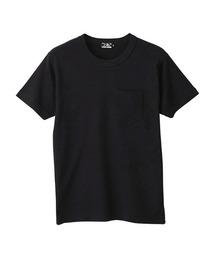 HYS FANTASIES ポケット付きTシャツブラック