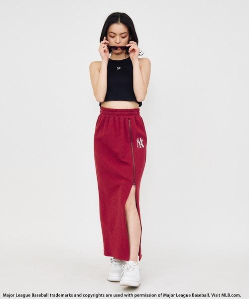 【MLB】カットロングスカート