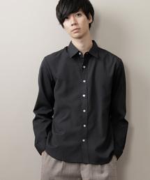 オックスフォードレギュラーカラーシャツ L/Sブラック