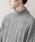 MONO-MART(モノマート)の「オーバーサイズアラン編みタートルネックケーブルニットセーター(ニット/セーター)」|詳細画像