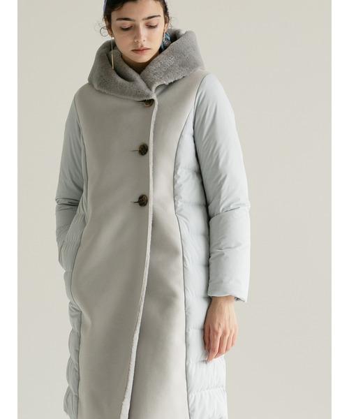 Fake Mouton Long Coat / フェイクムートンロングコート