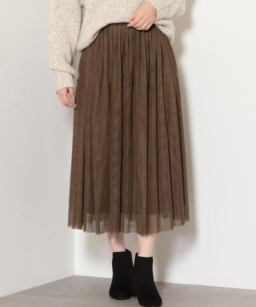 NFC チュール フレア スカート