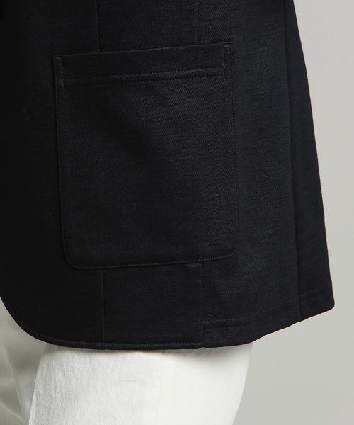 《SET UPアイテム》ラミーカルゼジャージテーラードジャケット
