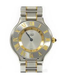 802125eb115e Cartier(カルティエ)の古着「マスト21 コンビ(腕時計)」