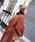 Doula Doula(ドゥーラドゥーラ)の「サイドスリット オーバーサイズ チェスターコート(チェスターコート)」 詳細画像