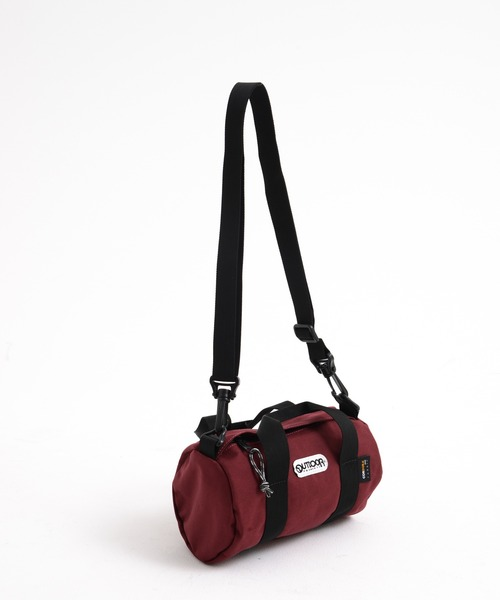 230 SMALL ロールボストンバッグ CORDURA素材使用 通常ナイロンの2~3倍の耐摩耗性と高い引き裂き強度 2.6L