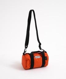 230 SMALL ロールボストンバッグ CORDURA素材使用 通常ナイロンの2~3倍の耐摩耗性と高い引き裂き強度 2.6Lオレンジ