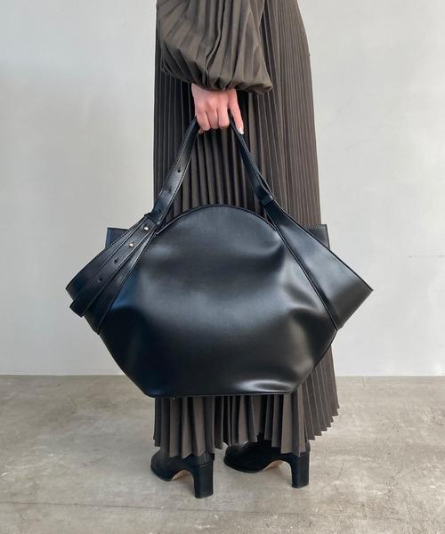 【chuclla】Fan‐shaped tote bag cha190