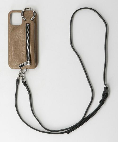 <AJEW>CADENAS ジップ ストラップ iPhone 12/12 Proケース