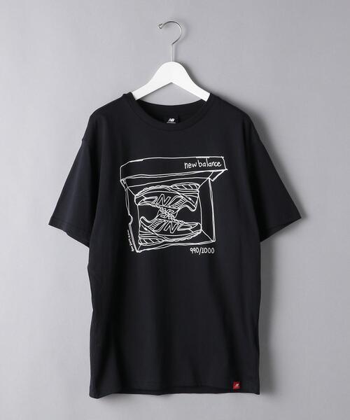 <New Balance(ニューバランス)>  ShoesBox Tシャツ