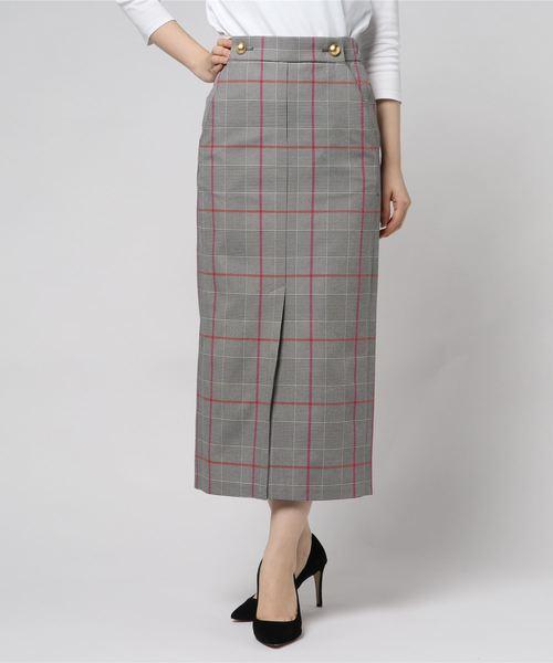 保障できる 【セール】&DEAR/ORIGINAL CHECKタイトスカート(スカート) NINE(ナイン)のファッション通販, ミズノ公式通販:e87888f4 --- rise-of-the-knights.de