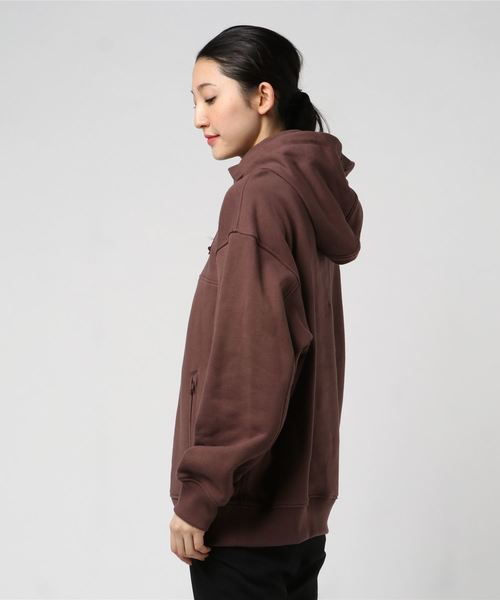 SWEAT ANORAK