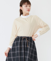 POU DOU DOU(プードゥドゥ)のローンスタンドフリル カットソー(Tシャツ/カットソー)