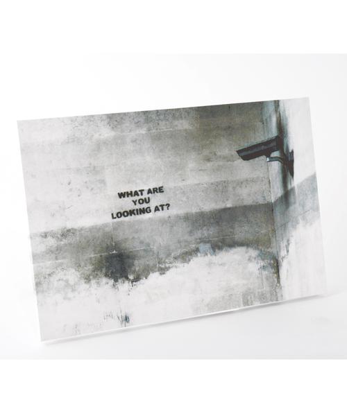 ABBEY MARKET(アビーマーケット)の「バンクシー アートキャンバス(インテリア雑貨)」|スモークグレー