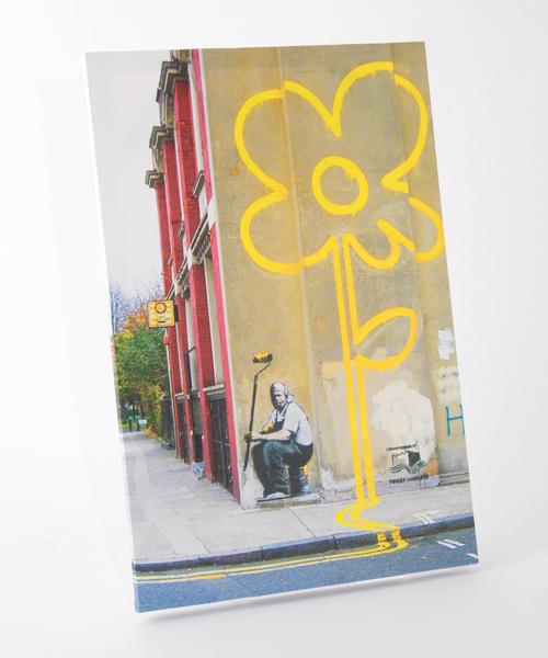 ABBEY MARKET(アビーマーケット)の「バンクシー アートキャンバス(インテリア雑貨)」|その他1
