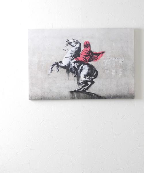 ABBEY MARKET(アビーマーケット)の「バンクシー アートキャンバス(インテリア雑貨)」|グレー系その他6