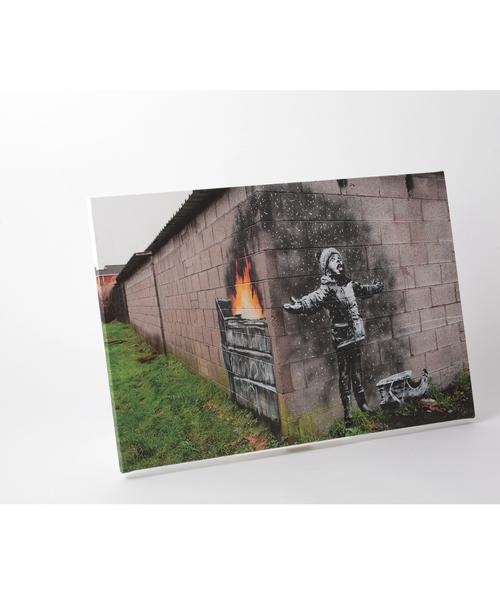 ABBEY MARKET(アビーマーケット)の「バンクシー アートキャンバス(インテリア雑貨)」|グレー系その他7