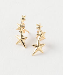 <GABRIELA ARTIGAS>TRIPLE STAR EARRINGS/ピアス