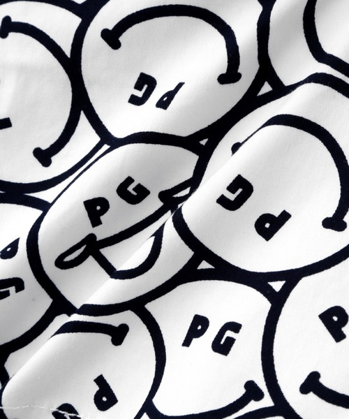 PEARLY GATES(パーリーゲイツ)の「【PEARLY GATES】ストレッチツイル ショートパンツ<PG SMILE>(パンツ)」|詳細画像