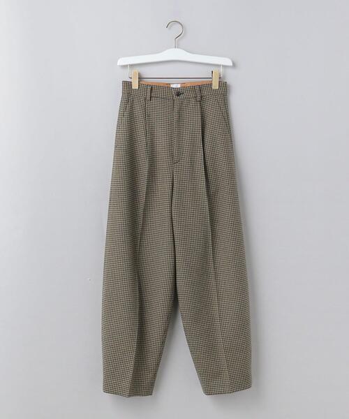 <6(ROKU)>HOUND TOOTH PANTS/パンツ