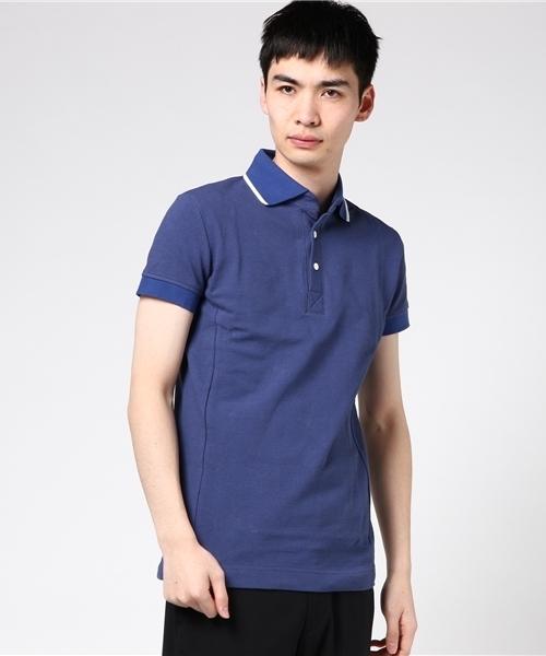【信頼】 S/S LINE POLO(ポロシャツ) AKM(エイケイエム)のファッション通販, スギナミク:ce07aedf --- skoda-tmn.ru