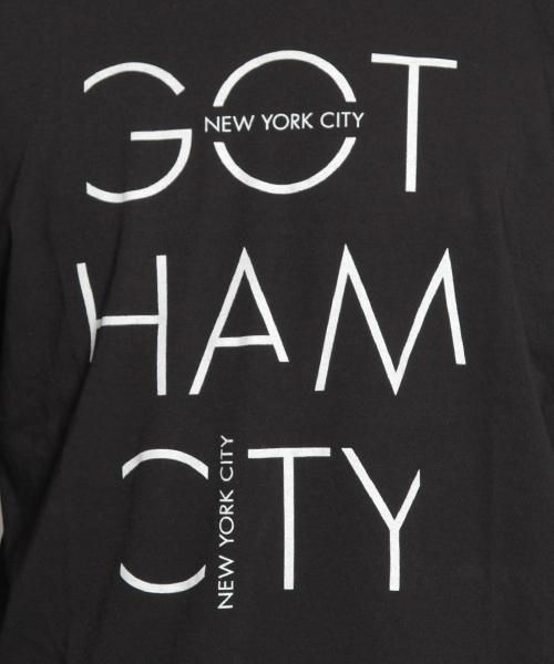 NYCプリントロングスリーブTシャツ