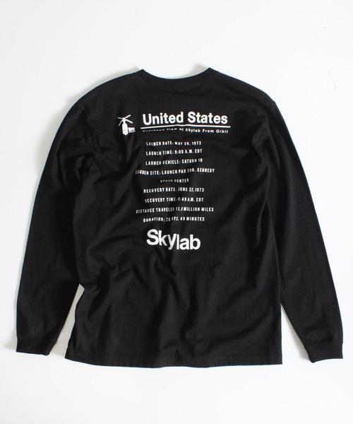 NASAコラボロングスリーブTシャツ