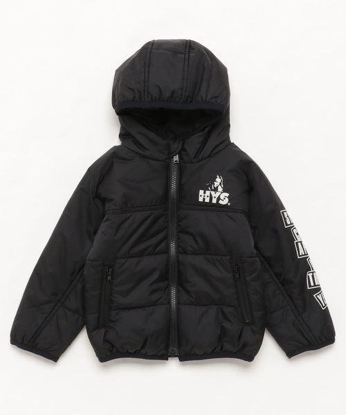 プリマロフトナイロンタフタ フーデッドジャケット【XS/S/M】