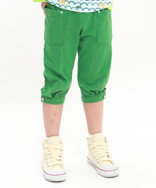 RAGMART(ラグマート)の「7分丈パンツ カットソー(パンツ)」|グリーン
