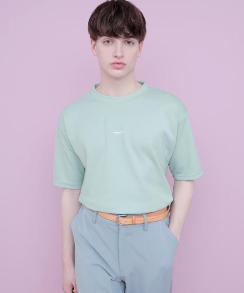 オーバーサイズポンチローマカットソー 1/2 sleeve (EMMA CLOTHES)