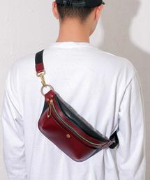 Cramp クランプ イタリアンレザー×オイルレザー ポケットbag Cr-5007(ショルダーバッグ)