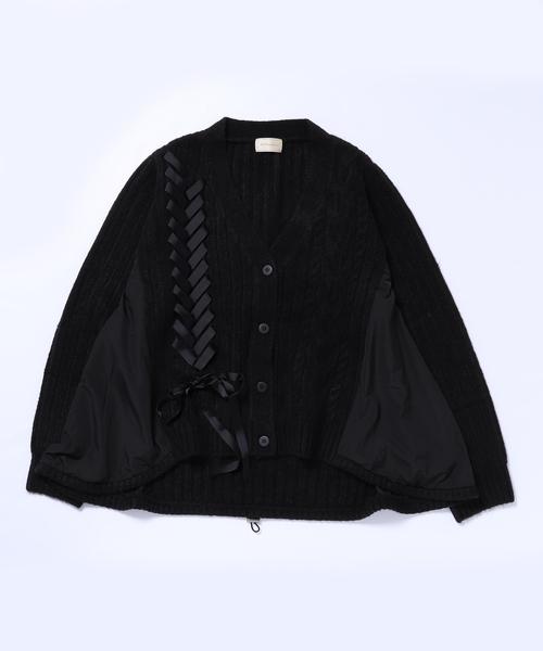 【即発送可能】 マシュマロケーブルレースアップカーディガン(ニット/セーター)|Re.Verofonna(ヴェロフォンナ)のファッション通販, 出産祝い:9226aaac --- blog.buypower.ng