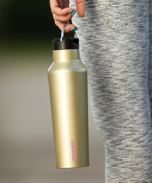 20oz/600ml SPORT Canteen(キャンティーン)ステンレスボトル スポーツ ストローキャップ標準装備 [CORKCICLE/コークシクル]