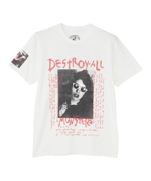 DESTROY ALL MONSTERS/DIARY 2 Tシャツホワイト