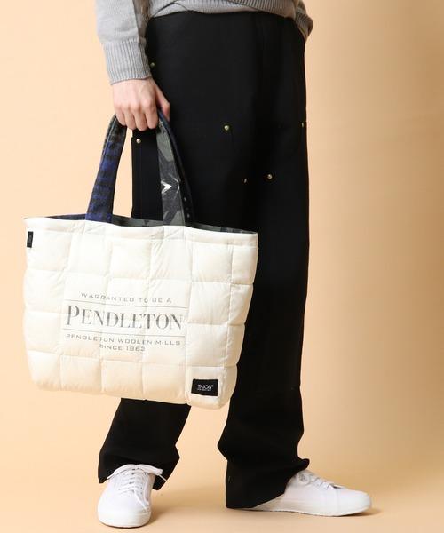 【 PENDLETON x TAION / ペンドルトン ×  タイオン 】 REVERSIBLE BAG リバーシブルバッグ トート