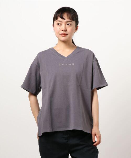 【THE CHIC】強撚コットンティックpr.Tシャツ
