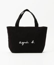 agnes b.(アニエスベー)のGO03-02 ロゴトートバッグ(トートバッグ)