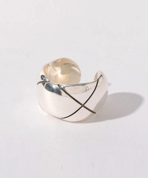 PHILIPPE AUDIBERT(フィリップオーディベール)クロスリング SIL / 指輪