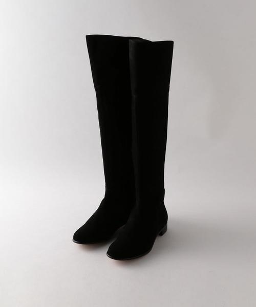 <Steven Alan>SUEDE KNEE HIGH BOOTS/ブーツ ◆