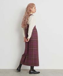 Ebonyivory(エボニーアイボリー)のMALLALIEUS ジャンパースカート(ジャンパースカート)
