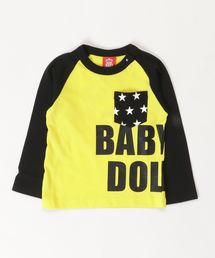 BABYDOLL(ベビードール)のロゴラグランロンT 2914K(Tシャツ/カットソー)