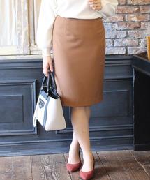 TRUDEA(トルディア)の【2レングス】 機能素材タイトスカート (日本製)(スカート)