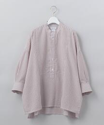 <Salvatore Piccolo>STRIPE SHIRT PULLOVER/シャツ Ψ